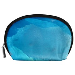 LIGHT TURQUOISE ICE Accessory Pouches (Large)