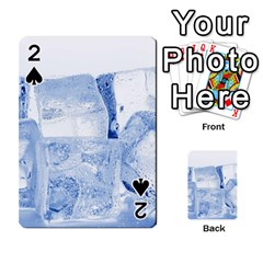 Ice Cubes Playing Cards 54 Designs