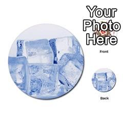 Ice Cubes Multi Purpose Cards (round)