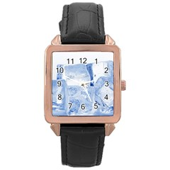 ICE CUBES Rose Gold Watches
