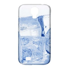 Ice Cubes Samsung Galaxy S4 Classic Hardshell Case (pc+silicone)