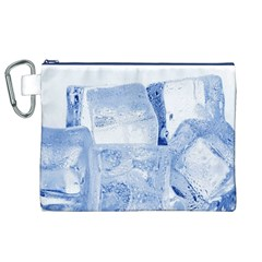 ICE CUBES Canvas Cosmetic Bag (XL)