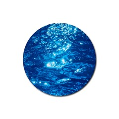 Light On Water Rubber Coaster (round)