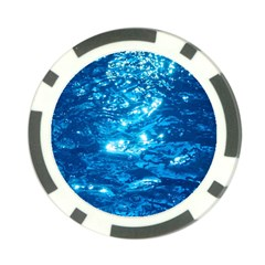 LIGHT ON WATER Poker Chip Card Guards
