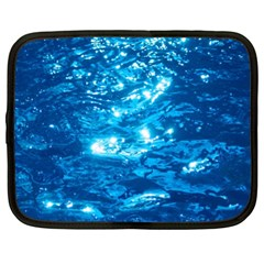 LIGHT ON WATER Netbook Case (XL)