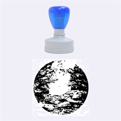 LIGHT ON WATER Rubber Round Stamps (Medium)