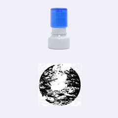 LIGHT ON WATER Rubber Round Stamps (Small)