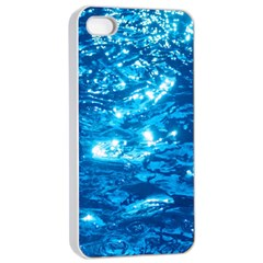 Light On Water Apple Iphone 4/4s Seamless Case (white)