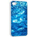 LIGHT ON WATER Apple iPhone 4/4s Seamless Case (White) Front
