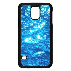 LIGHT ON WATER Samsung Galaxy S5 Case (Black)