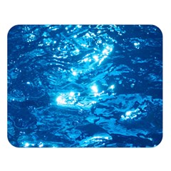 Light On Water Double Sided Flano Blanket (large)