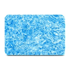 BLUE ICE CRYSTALS Plate Mats
