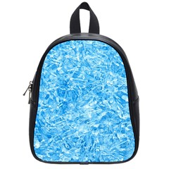 BLUE ICE CRYSTALS School Bags (Small)