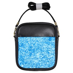 BLUE ICE CRYSTALS Girls Sling Bags