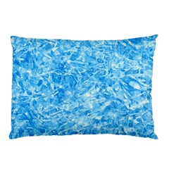 BLUE ICE CRYSTALS Pillow Cases (Two Sides)
