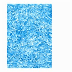 BLUE ICE CRYSTALS Small Garden Flag (Two Sides)