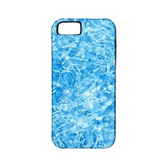 BLUE ICE CRYSTALS Apple iPhone 5 Classic Hardshell Case (PC+Silicone)