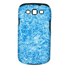 BLUE ICE CRYSTALS Samsung Galaxy S III Classic Hardshell Case (PC+Silicone)