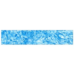 BLUE ICE CRYSTALS Flano Scarf (Small)