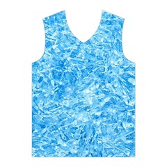 BLUE ICE CRYSTALS Men s Basketball Tank Top