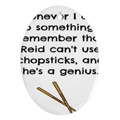 Reid s Chapsticks Ornament (Oval)