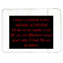I ve Watched Enough Criminal Minds Samsung Galaxy Tab 7  P1000 Flip Case