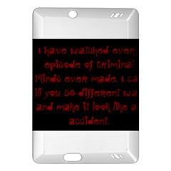 I ve Watched Enough Criminal Minds Kindle Fire HD (2013) Hardshell Case