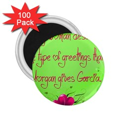 Garcia s Greetings 2.25  Magnets (100 pack)