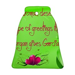 Garcia s Greetings Bell Ornament (2 Sides)