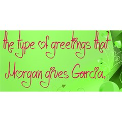 Garcia s Greetings YOU ARE INVITED 3D Greeting Card (8x4)