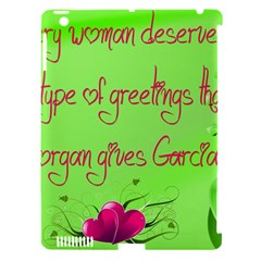 Garcia s Greetings Apple iPad 3/4 Hardshell Case (Compatible with Smart Cover)