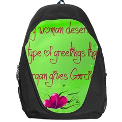 Garcia s Greetings Backpack Bag