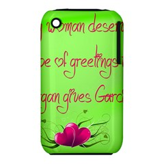Garcia s Greetings Apple iPhone 3G/3GS Hardshell Case (PC+Silicone)