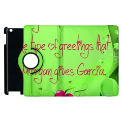 Garcia s Greetings Apple iPad 2 Flip 360 Case
