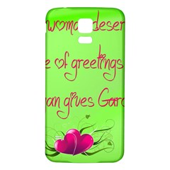 Garcia s Greetings Samsung Galaxy S5 Back Case (White)