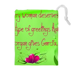 Garcia s Greetings Drawstring Pouches (extra Large)