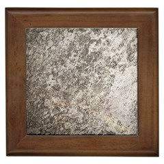 WEATHERED GREY STONE Framed Tiles
