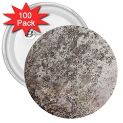 WEATHERED GREY STONE 3  Buttons (100 pack)