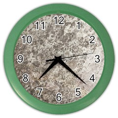 WEATHERED GREY STONE Color Wall Clocks