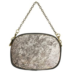 WEATHERED GREY STONE Chain Purses (Two Sides)