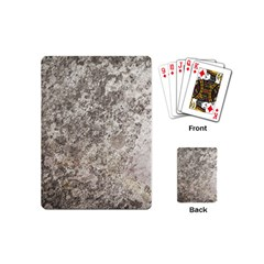WEATHERED GREY STONE Playing Cards (Mini)