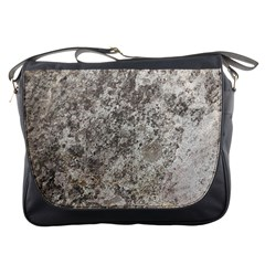 WEATHERED GREY STONE Messenger Bags