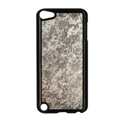 Weathered Grey Stone Apple Ipod Touch 5 Case (black)