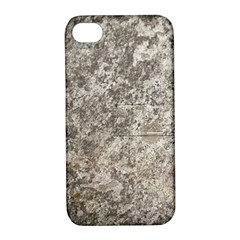 WEATHERED GREY STONE Apple iPhone 4/4S Hardshell Case with Stand