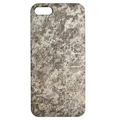 WEATHERED GREY STONE Apple iPhone 5 Hardshell Case with Stand