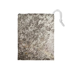 Weathered Grey Stone Drawstring Pouches (medium)