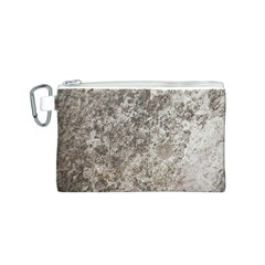 WEATHERED GREY STONE Canvas Cosmetic Bag (S)