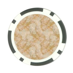 Tan Marble Poker Chip Card Guards