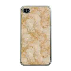 TAN MARBLE Apple iPhone 4 Case (Clear)
