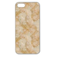 TAN MARBLE Apple Seamless iPhone 5 Case (Clear)